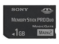 Sony 1 GB Memory Stick PRO Duo Flash Memory Card MSMT1G
