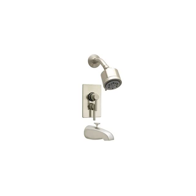 """Jaclo 6532 168 05 Polished Copper Bathroom Faucets Cylindrico 5 1/2"""" Thermostatic Tub & Shower Sets"""