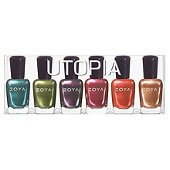 Bold, rich tones for nail polish (Utopia nail polish available at Amazon.com)