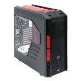 AeroCool エアロクール PCケース ITX/ATX/MicroATXフルタワー ゲーミングPCケース Xpredator-X3 Devil Red Edition EN57097
