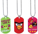 ANGRY Birds Dog Tags (3 count)
