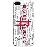Houston Rockets 1 Custom Phone 3D Case Design for iphone 5C Case with Black Technology