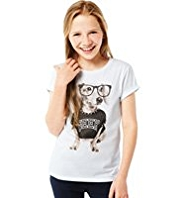 Pure Cotton Geek Dog T-Shirt