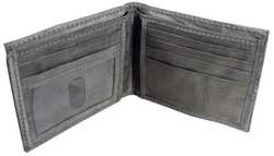 RFID BLOCKING STAINLESS STEEL WALLET