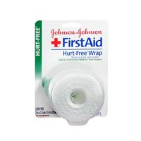 Johnson & Johnson First Aid 2In. Hurt-Free Wrap, 2.3 Yd (Pack Of 4) back-883335