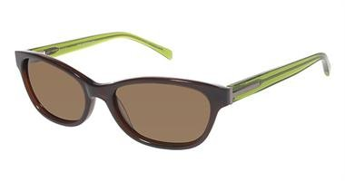 Ted Baker Women'S Sunglasses B554 Brown/Lime Size 52