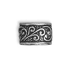 Sterling Silver Antiqued Scroll Ear Cuff Wrap