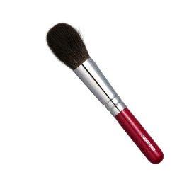 匠の化粧筆コスメ堂 熊野筆メイクブラシ ショートタイプ 灰リス100%チークブラシ丸筆タイプ