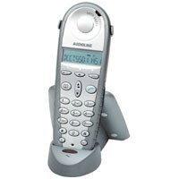 Audioline DECT 5501+ Telefon-Mobilteil für Audioline DECT 5500+ silverstar