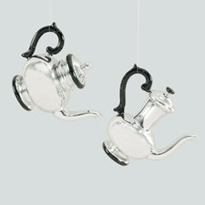 COFFEE AND TEA SERVICE Ornament, Assorted 2