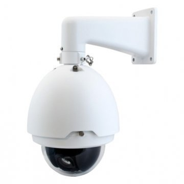 "Dahua SD6536N-H Analog PTZ Pan Tilt Zoom Security Camera, 6""inch 36x Optical Zoom, 400 °/s pan speed, 360° continuous pan rotation, 255 presets, 600TVL, IP67, IK10, AC 24V, Wall Mount Bracket Included"