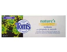 Toms Of Maine Fennel Antiplaque Toothpaste 85ml