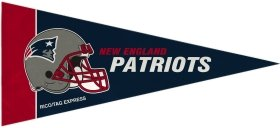 New England Patriots NFL Mini Pennant Set