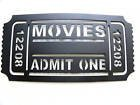 Home Theater Decor Movie Ticket ADMIT...
