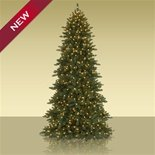 7.5' Bh Mountain Fir Artificial Christmas Tree - Multi-Colored