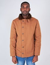 Brixton Ltd Mast Mens Jacket Copper: Large