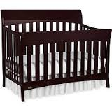 Graco Rory 5-in-1 Convertible Fixed-Side Crib, espresso - 1