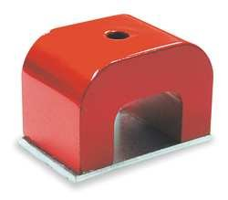 Industrial Grade 6XY59 Horseshoe Magnet, Max Pull 30 Lb, Alnico 5
