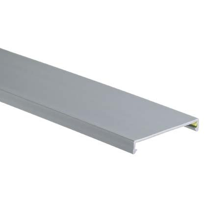 Panduit C2Lg6 Wiring Duct Cover, Lead-Free Pvc, Light Gray