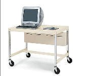 Buy Low Price Comfortable New Bretford Mobile Computer Workstation 3-Outlet Elec Unit Steel Construction Putty Beige (B0047611BU)
