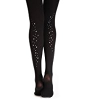 60 Denier Star Opaque Tights