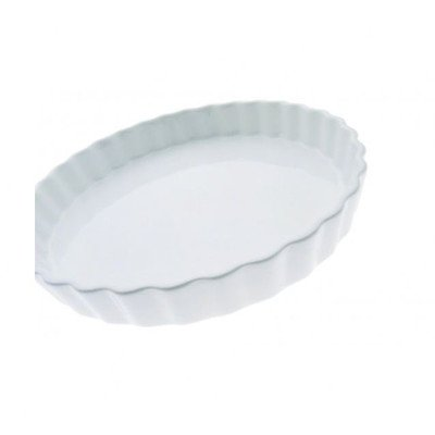 Maxwell And Williams Aa05017 Basics Quiche Dish, 11-Inch, White