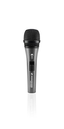 Sennheiser E 835-S Dynamic Cardioid Vocal Microphone With On/Off Switch