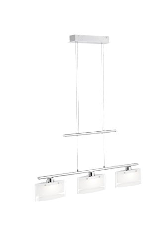 Pendelleuchte, 3 x LED / 4,80 W / 3000 K, Innenleuchte, IP20 , stahl 2635-55