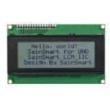 SainSmart IIC/I2C/TWI Serial 2004 20x4 LCD Module Shield For Arduino UNO MEGA R3