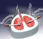 Home & decor Home & Decor Coughing Screaming Lung Ashtray QUIT SMOKING (White and Red)
