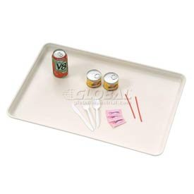 26 X 18 Off-White Fiberglass Component & Food Service Tray