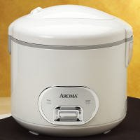 Aroma ARC-940S 10-Cup (Cooked) Cool-Touch Rice Cooker & Food Steamer