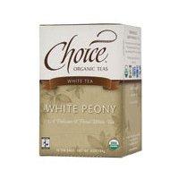 CHOICE ORGANIC TEAS TEA,OG2,WHITE, 16 BAG