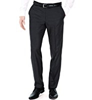 Limited Collection Slim Fit Flat Front Trousers