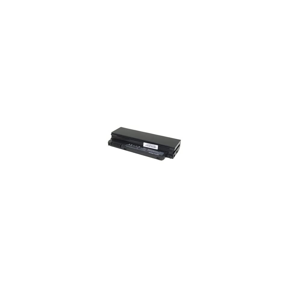 Rechargeable Li Ion Laptop Battery for Dell Inspiron Mini 9 Series   2400 mAh, Black