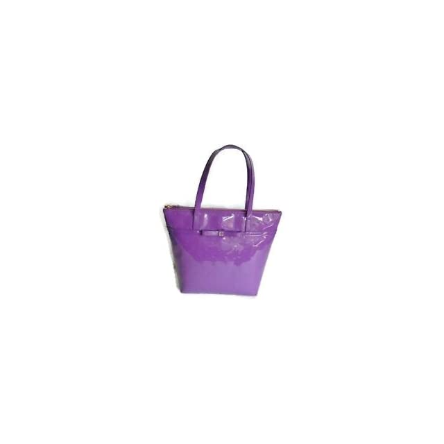 Kate Spade New York Jeralyn Camelia Street Small Tote Bag Baja Rose (Purple)