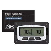 Xikar Rectangular Digital Hygrometer from Xikar