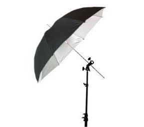 43 Inches Black Umbrella