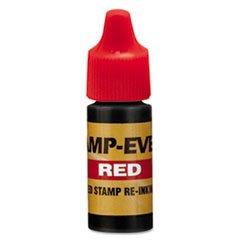 -- Refill Ink for Clik! & Universal Stamps, 7ml-Bottle, Red mystery mot 3333