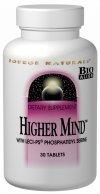 Higher Mind P.S. Complex Source Naturals, Inc. 120 Tabs
