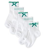 5 Pairs of Cotton Rich Assorted Socks
