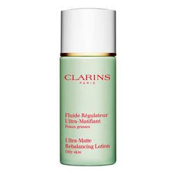 Clarins - Fluide Régulateur Ultra-Matifiant Peaux Grasses - 50 ml- (for multi-item order extra postage cost will be reimbursed)