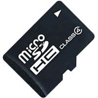 4GB microSDHC (Secure Digital High Capacity) Card Class 4 (CRF)