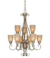 "Vaxcel Ch35909 Mont Blanc 32"" Wide Lighting Chandelier"