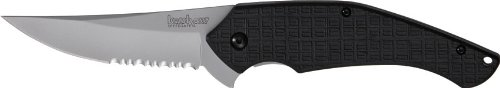 Kershaw Asset Serrated Folding Lock Back Serrated Knife