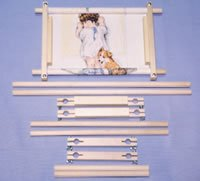 F.A. Edmunds Multiple Size Cross Stitch Scroll Frame Set