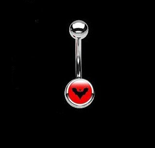 BAUCHNABELPIERCING 316L Chirurgenstahl Party Girl Logo du piercing : Party Girl