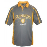 Guinness 1759 Mesh Rugby Grey & Mustard