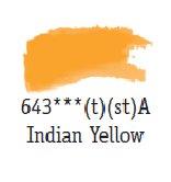 Daler Rowney Aquarellfarbe 1/2 Näpfe Indian Yellow 643
