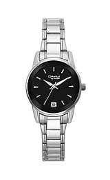 Caravelle Bracelet Collection Black Dial Women's Watch #43M104